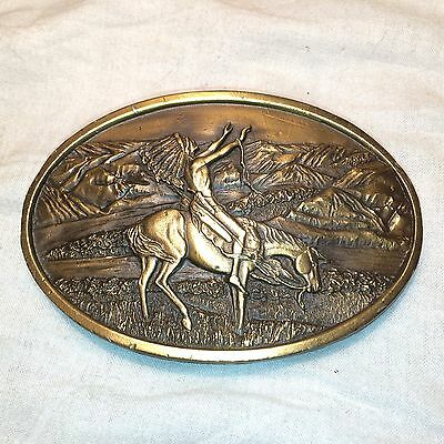 Arroyo Grande Grants Pass Chief Joseph Bergamot Brass Works Belt Buckle USA