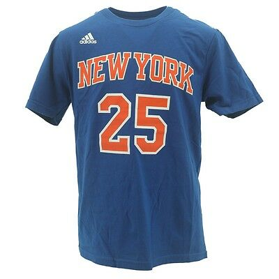 e31d230b2fdf New York Knicks Youth Size Derrick Rose Official Adidas NBA T-Shirt New Tags