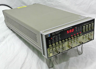 hp 8116A 50MHz Function/Pulse Generator Hewlett Packard Agilent Keysight GPIB