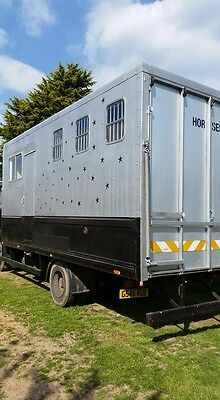 Horsebox 7.5 Tonne Ford Cargo