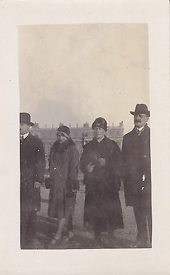 Antique RPPC: Men And Women - Beautiful Fashions, Social History, Hats, People