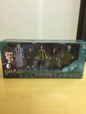 Harry Potter Exclusive Collectors Action Figure Box Set with Wands inc Bellatrix