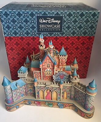 Jim Shore Disney Showcase Collection: TRUE LOVE'S CASTLE Sleeping Beauty w/Box