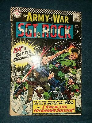 our army at war 168 1st appearance the unknown soldier lot run movie sgt rock