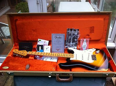 Fender Custom Shop Usa 1956 Relic Stratocaster Strat With Original Case + Candy