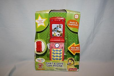 NEW Wonder Pets Chat & Save Can Phone Phrases Sounds Music Ringtones Batteries