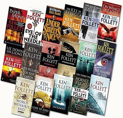 The Ken Follet Series - 17 Unabridged Audiobooks Complete Collection DVD-mp3