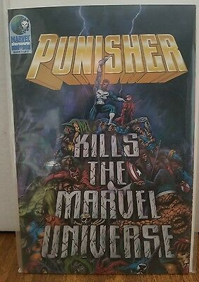Punisher Kills the Marvel Universe #1 (1995, Marvel) NM 1st Print