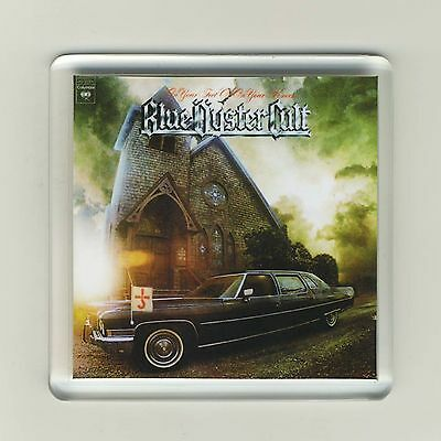 Blue Oyster Cult On Your Feet Or On Your Knees Acrylic Fridge Magnet