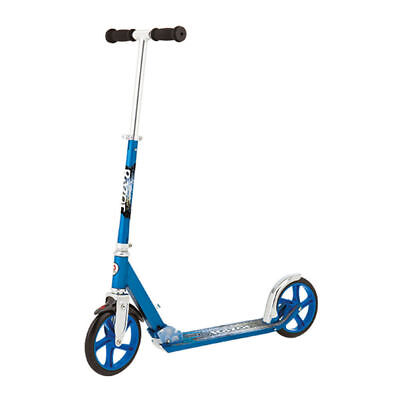 Razor A5 Lux Classic Blue Adult/Kids Kick/Push Foldable Scooter w/ Stand/Ride On