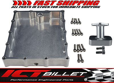Billet Oil Pan W/ Pick Up Low Profile Suzuki GSXR 600 750 1000 2001-2006