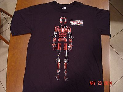 Craftsman Original Single Robot Made of Tools T-Shirt  M NEW