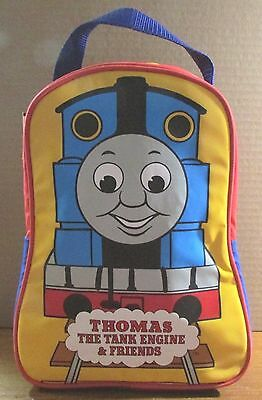 THOMAS the TANK & FRIENDS-INSULATED NYLON SCHOOL LUNCH BOX LUNCH BAG TOTE *NEW*