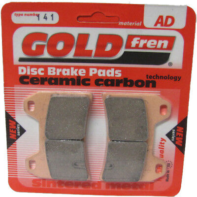 Front Disc Brake Pads for Ducati Sport Touring ST4S ABS 2004 996cc By GOLDfren