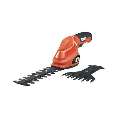 Black and Decker 3.6V, Lithium Powered, Cordless Shear/Shrubber GSL35