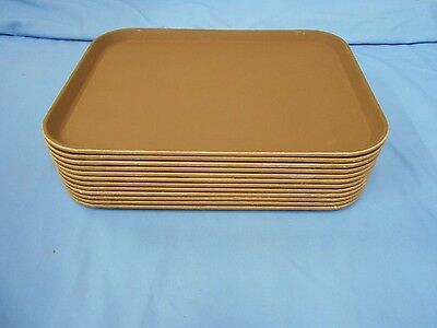Serving Trays Fiberglass  Camtread By Cambro (12 In This Lot) Fast Food