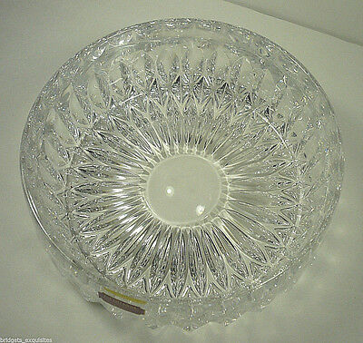 "Vintage Gorham Althea Full Lead Crystal 8"" Bowl West Germany"
