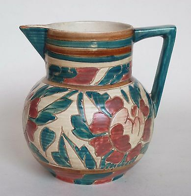 Art Deco Shorter & Son Jug by Mabel Leigh