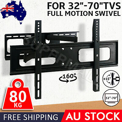 TV Bracket Wall Mount 32 40 42 46 50 52 60 62 65 70 Full Motion Swivel LCD LED