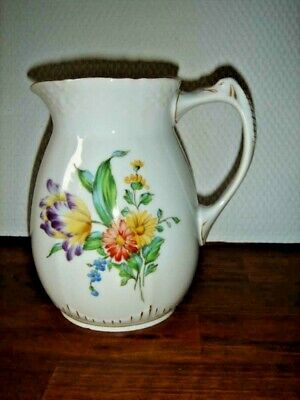 Old 1915 - 1948 JUG SAXON FLOWER  Bing & Grondahl Royal Copenhagen Fact 1