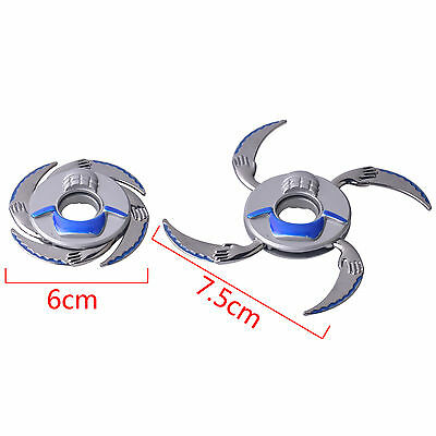 Rotating Darts Fidget Tri Spinner Metal Finger Stress Hand Bearing Toy EDC ADHD