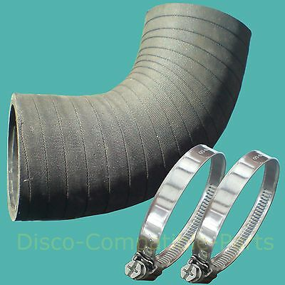 Land Rover Discovery 200 TDi Bottom Elbow Turbo Hose & Stainless Steel Clamps