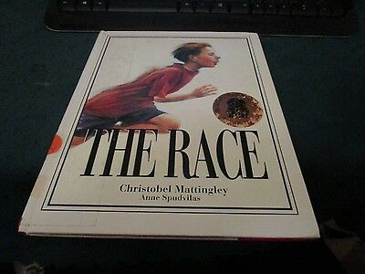 THE RACE by CHRISTOBEL MATTINGLEY. AUSTRALIAN PICTURE BOOK. DEAFNESS. DISABILIT