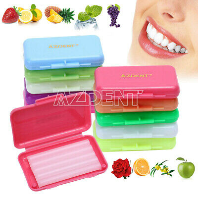 0.99$ Dental Orthodontics Wax 10 scents Fit Bracket Braces gum irritation