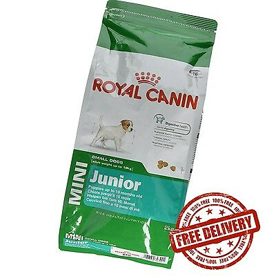 Royal Canin Dry Small Dogs Food 1-10 kg Mini Junior Puppies - 2 kg
