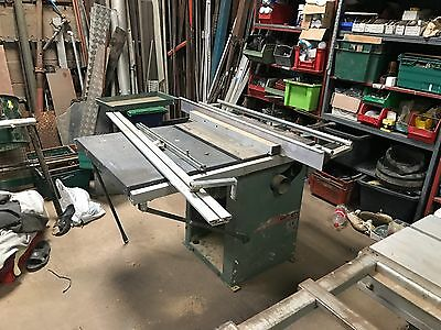 Kity 1619 Table Saw, Sliding Deck, 3 Phase, Panel Saw, Bench