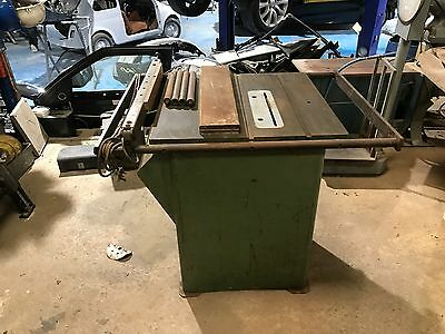 Startrite Tilt Arbor Table Saw 240v Single Phase,