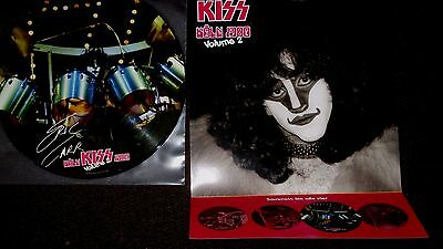 Kiss /eric Carr  Picture Disc + Poster   Ltd -100 Copy Only!