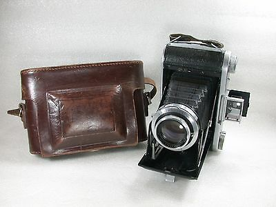 Ensign Selfix 820, Ross XPRES 105mm F3.8, 120 Roll Film Camera, No. E8343