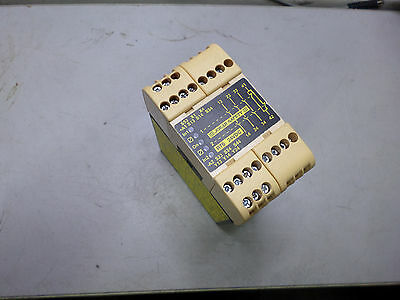 JOKAB SAFETY RELAY -24DC - 3 x Safe + 1 x Aux - SINGLE or DUAL CHANNEL  -- RT6