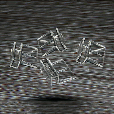 Aquarium Tank Glass Cover Clear Transparent Acrylic Clips Clamp Support Holder