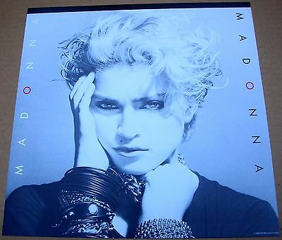 MADONNA Madonna 1 Sided Promo 12x12 Poster Flat 1983 Mimt-