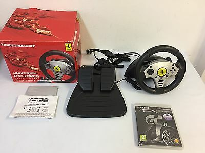 Volante Ps3 Thrustmaster Ferrari Pc / wii / gamecube / plasytation 3 mas juego