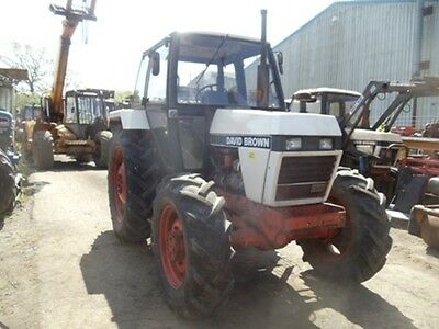 ***david Brown 1390 4Wd Tractor***