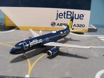 GreminiJets 1:400 scale diecast model JetBlue Airbus A320-200 Commercial Airline