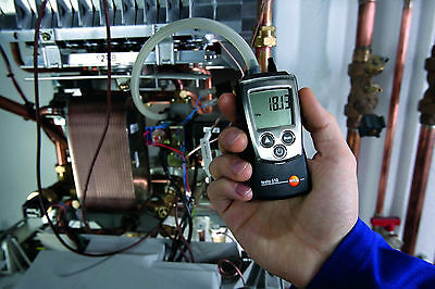 Differential Pressure Meter Manometer Gauge Digital Air 0-100 Mbar , Electrical