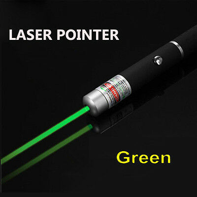 2Pcs 1mw 532nm Professional Powerful Green Laser Pointer Light Pen Lazer Beam