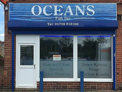 Fish and Chip shop For Sale, Rotherham area, South Yorkshire. Kebabs, Burgers