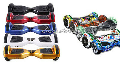 Overboard 6.5 Pollic Luci Led Bluetooth Monopattino Elettrico Scooter Hoverboard