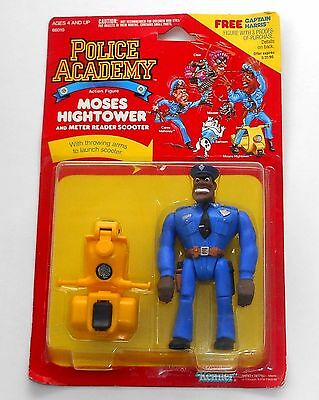 "1988 Kenner Toy ~ Police Academy ~ MOSES HIGHTOWER ~ 5"" Action Figure ~ New MOC"