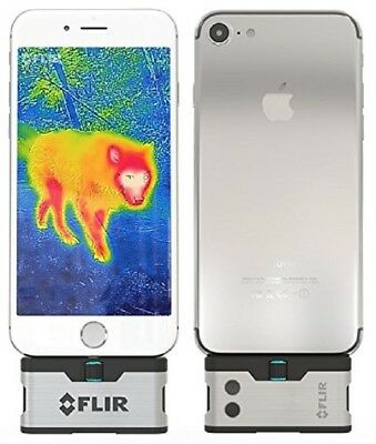 FLIR ONE Thermal Imaging Camera Compatible with iPhone 7 , iPhone 7 Plus .NEW