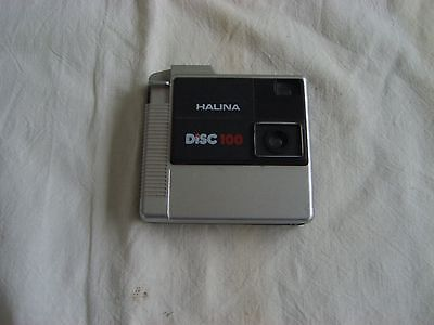 Halina disc100 camera.