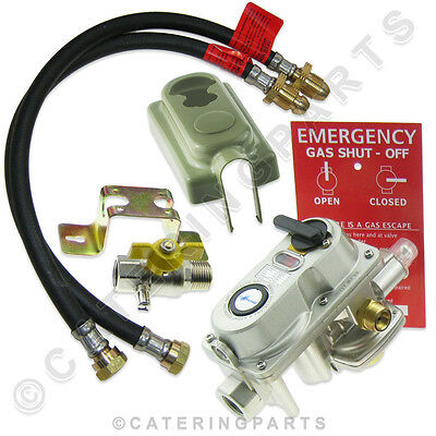 2 Bottle Connector Auto Change Over Lp Lpg Propane Gas Opso Regulator And Hoses