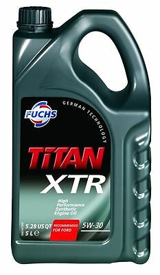 Fuchs TITAN XTR 5w-30 High Performance Synthetic Engine Oil 5 Litre 5L Ford