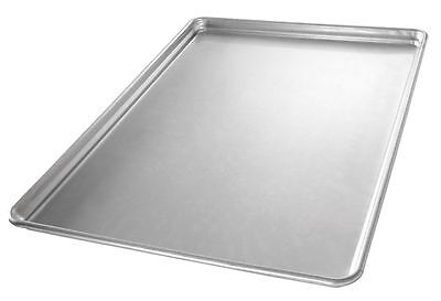 "Chicago Metallic 26 x 18"" Glazed Aluminum Sheet Pan, Gray - 40908"