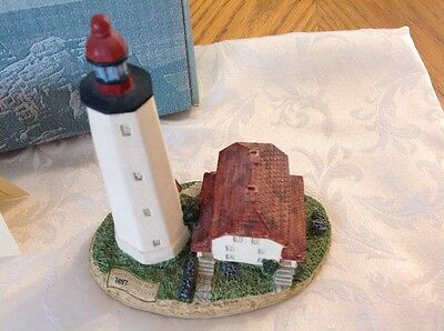 Harbour Lights Sandy Hook , New Jersey, limited collection 1991, retired